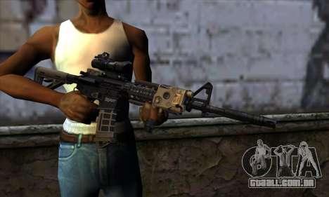 AR15 bushmaster para GTA San Andreas terceira tela