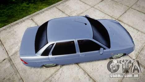 ВАЗ-2170 Instalado Prioresa Qualidade v2.0 para GTA 4 vista direita