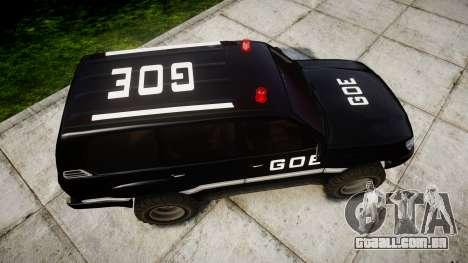 Toyota Land Cruiser 100 GOE [ELS] para GTA 4 vista direita