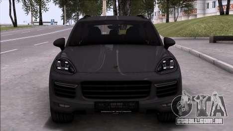 Porsche Cayenne Turbo 2015 para GTA San Andreas