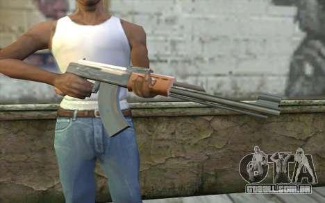 AK-47 Sem a Bunda para GTA San Andreas terceira tela