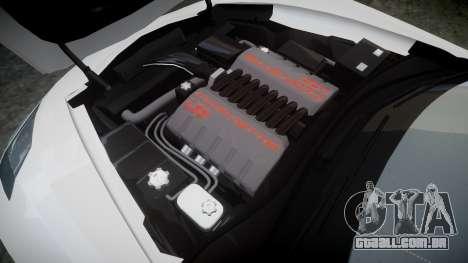 Chevrolet Corvette C7 Stingray 2014 v2.0 TireBr2 para GTA 4 vista lateral