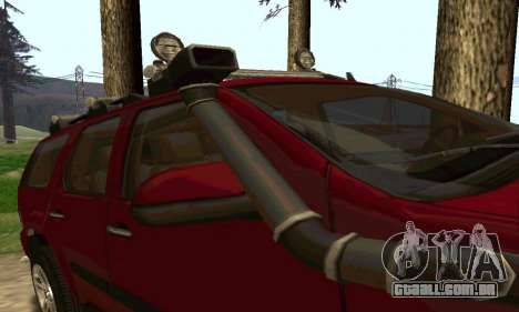 Chevrolet Tahoe Final para GTA San Andreas vista direita