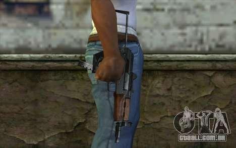 Arma De Chita para GTA San Andreas terceira tela