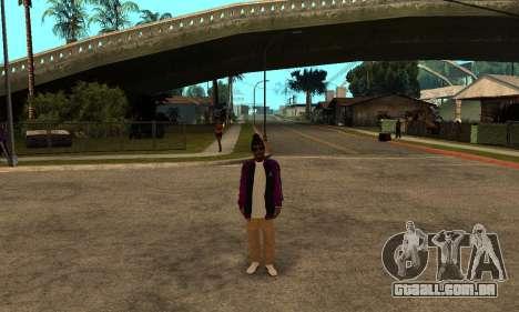 The Ballas Skin Pack para GTA San Andreas quinto tela