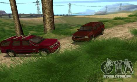 Chevrolet Tahoe Final para vista lateral GTA San Andreas