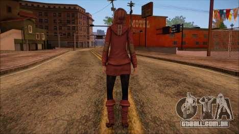 Modern Woman Skin 10 v2 para GTA San Andreas segunda tela
