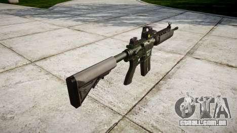 Máquina M4A1 para GTA 4 segundo screenshot