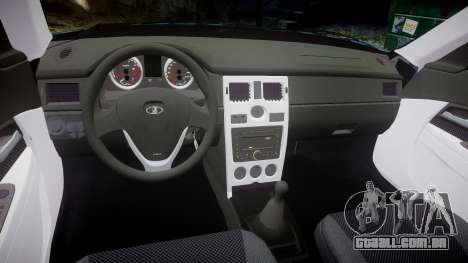 ВАЗ-Lada 2170 Priora stamping para GTA 4 vista interior