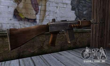 IOFB INSAS from Sniper Ghost Warrior 2 para GTA San Andreas segunda tela