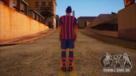 Neymar Skin para GTA San Andreas segunda tela