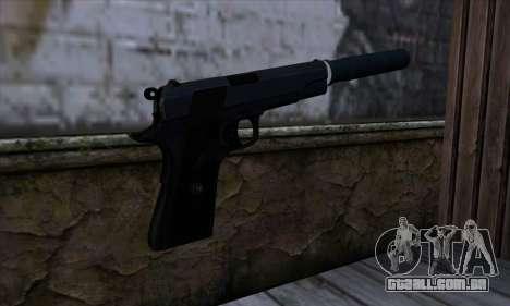 New Silenced Colt45 para GTA San Andreas segunda tela