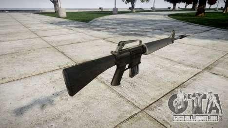 O M16A1 rifle para GTA 4 segundo screenshot