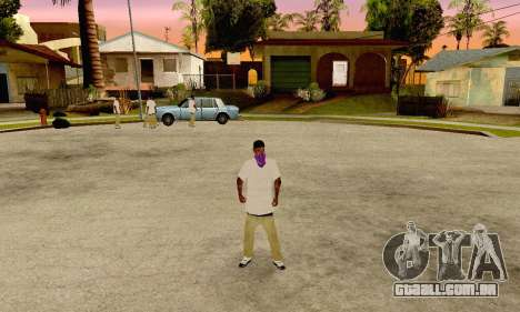 The Ballas Gang Skin Pack para GTA San Andreas