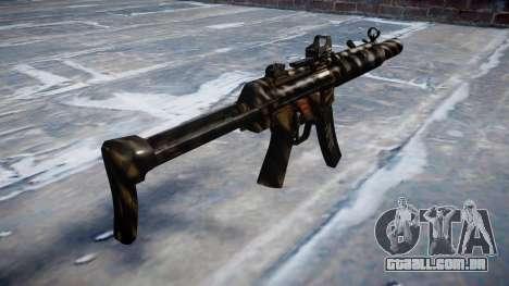 Arma MP5SD DRS FS c-alvo para GTA 4 segundo screenshot