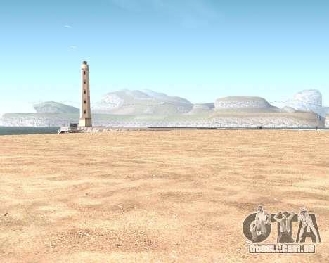 Textura Los Santos de GTA 5 para GTA San Andreas décimo tela
