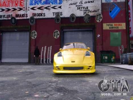 Nissan 350Z Fast And Furious Tokyo Drift para GTA 4 vista direita