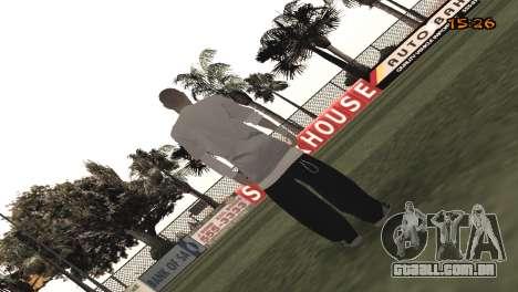 Tracer Skin New Era para GTA San Andreas segunda tela