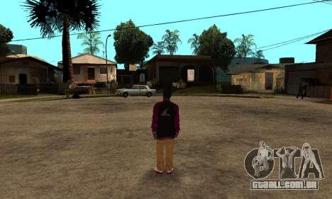 The Ballas Skin Pack para GTA San Andreas sexta tela