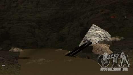 Трасса Offroad v1.1 por Rappar313 para GTA San Andreas quinto tela