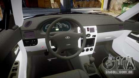 ВАЗ-Lada 2170 Priora Lâmpada para GTA 4 vista interior