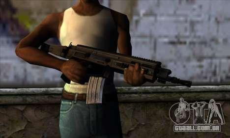 CZ805 из Battlefield 4 para GTA San Andreas terceira tela