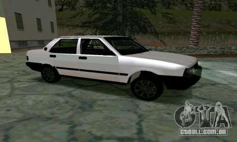 Tofas Sahin Taxi para GTA San Andreas esquerda vista