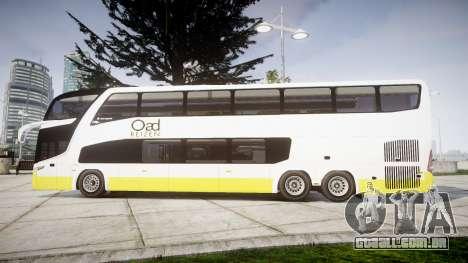 Marcopolo G7 OAD Reizen para GTA 4 esquerda vista