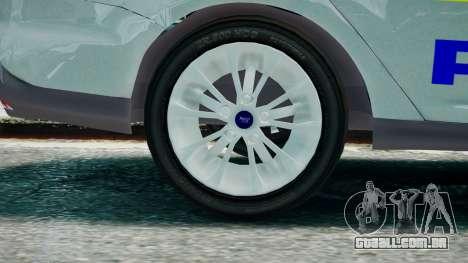 Met Police Ford Focus Estate IRV ELS 8 2013 para GTA 4 traseira esquerda vista