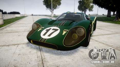 Ford GT40 Mark IV 1967 PJ 17 para GTA 4