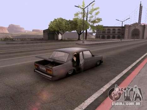 VAZ 2105 para vista lateral GTA San Andreas