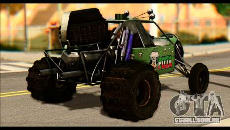 Buggy Fireball from Fireburst para GTA San Andreas esquerda vista