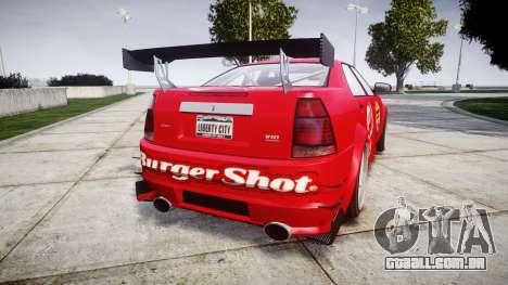 Albany Presidente Racer [retexture] eCola para GTA 4 traseira esquerda vista