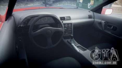 Nissan Skyline R32 GT-R para GTA 4 vista de volta