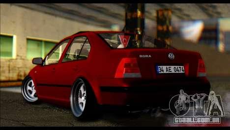 Volkswagen BorAir para GTA San Andreas traseira esquerda vista