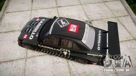 Mercedes-Benz 190E Evo II GT3 PJ 2 para GTA 4 vista direita