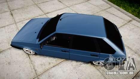 UTILIZANDO-Lada 2109 1500i para GTA 4 vista direita