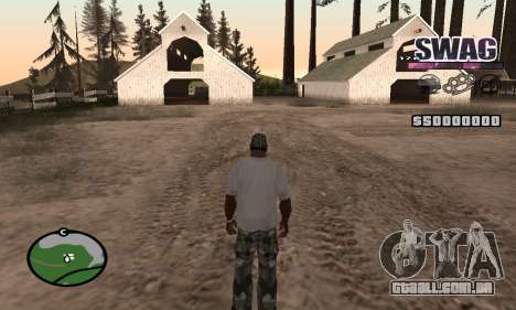 C-HUD Espaço SWAG para GTA San Andreas