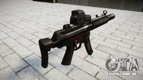 Arma MP5SD EOTHS CS para GTA 4 segundo screenshot
