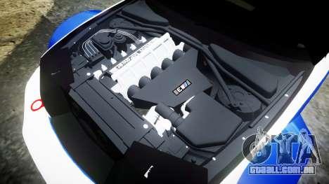 BMW M3 E46 GTR Most Wanted plate NFS-Hero para GTA 4 vista lateral