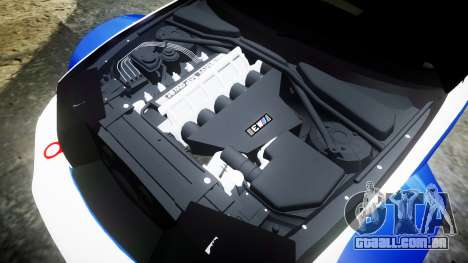 BMW M3 E46 GTR Most Wanted plate NFS Carbon para GTA 4 vista lateral