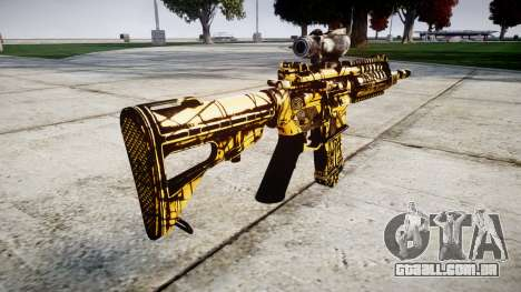 Máquina P416 ACOG PJ4 para GTA 4 segundo screenshot