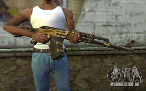 AK47 from PointBlank v1 para GTA San Andreas terceira tela