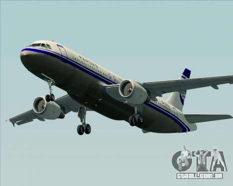 Airbus A320-200 CNAC-Zhejiang Airlines para o motor de GTA San Andreas
