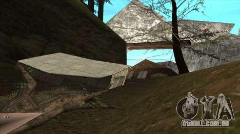 Трасса Offroad v1.1 por Rappar313 para GTA San Andreas sexta tela