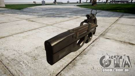 Belga submachine gun, FN P90 para GTA 4 segundo screenshot