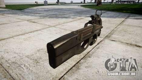 Belga submachine gun, FN P90 para GTA 4 segundo screenshot