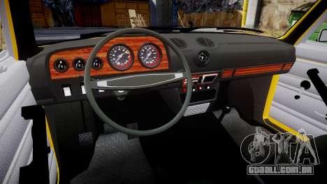 VAZ-2106 para GTA 4 vista interior