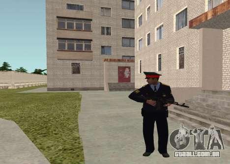 O sargento da polícia para GTA San Andreas