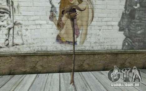Skull of Corruption from Skyrim para GTA San Andreas segunda tela